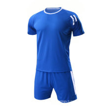 100% polyester football uniformes hommes porter maillot de football