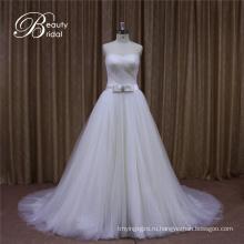 Милая Тюль Бальное Платье Свадебное Платье Для Новобрачных