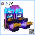 Máquina de juego caliente de la arcada del coche de carreras de la calle del movimiento 3D