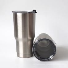 Sublimation stainless steel insulated wine cup with cover