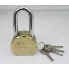 Cadeado redondo de aço com chaves de palhetas (RSP)