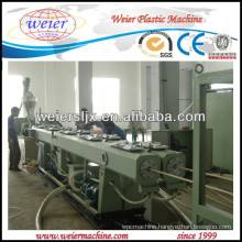 Wire & electrical cable protection PVC pipe making machine