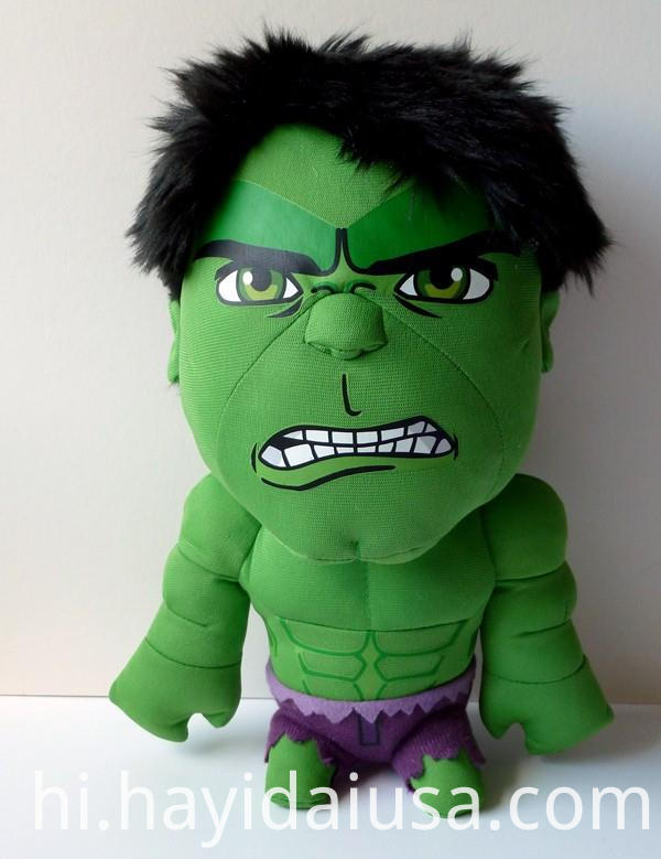 Marvel Plush Stuffed Soft Toy Hulk 08225908139