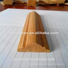 India utiliza madera recon moldeado de teca margen
