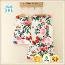 Girl chinese embroidery clothing adult garments on-sale children summer clothes fashion school show