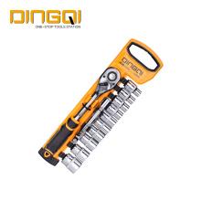 Conjunto de chave de soquete para ferramentas manuais domésticas DingQi 12pcs