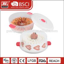 durable HAIXIN food grade dômes de gâteau en plastique