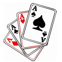 Kundenspezifische Druckpapierkarte für Spiel-Spiel 684