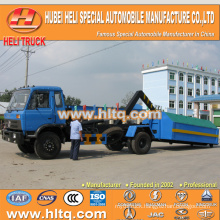 DONGFENG 4X2 new model 10 cubic 190hp waste collecting truck cheap price with good quality in China