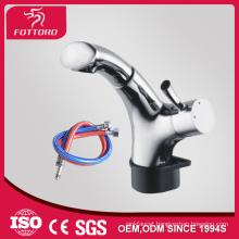 Extendable bathroom artistic brass faucets MK24001