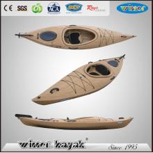 Canoa de madeira flutuante Kayak plástico