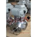 220v flangeou a válvula de bola elétrica 3 polegadas