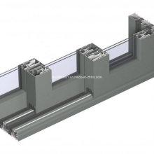 Wohn-Schlafzimmer Multi-Panels Aluminium Stacking Tür
