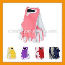 Sicherheits-Schwein-Leder-Arbeitshandschuh der Großhandelsfrauen / der Männer, Garten-Handschuh