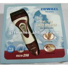 100% impermeable color blanco eléctrico dama de afeitar