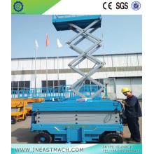 Elevador de tijera de 1.0t 14m CA DC