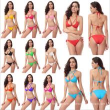 Frauen-reizvolle Dameart und weise Bikini-Badebekleidung