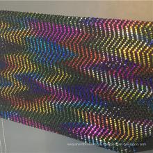 Tecido extravagante de malha de veludo de têxteis