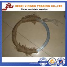 Dehnung: 20% Dingzhou Bwg22 0.7mm 7kg / Coil verzinktem Draht Professional Supplier