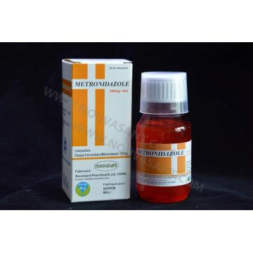 Metronidazole Oral Suspension 125mg/5ml