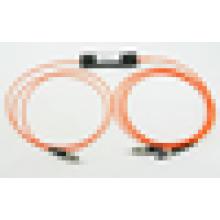 FC - FC SMA 1 * 2 FBT Оптические сплиттеры, 1x2 оптический соединитель FBT для FTTH, LAN, PON и оптического кабельного телевидения