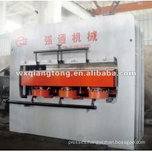 1400T 6*8 short cycle plywood melamine foil laminate hot press