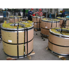 Tira / bobina de acero inoxidable laminado en frío 201 de Foshan