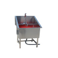 2020 Stainless steel pet dog grooming bathtub for pet clinic