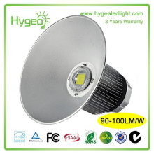 Shenzhen Factory 3 Years Warranty Ip65 RA>80 PE0.95 90w 120w 150w 180w 210w 240w 300w LED high bay lighting
