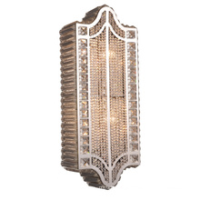 Modern Crystal Stainless Steel Sconces Gorgeous E14 Lighting Wall Lamp