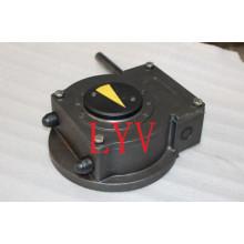 Single Screw Aluminum Stainless Steel Worm Gearbox