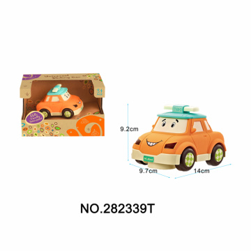 Cartoon Taxi W/Light & Music Child Car Toys