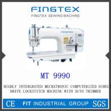 Highly Integrated Mechatronic Computerized Direct Drive Lockstitch Machine (MT 9990)