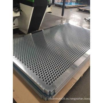 Hoja perforada de aluminio perforado para muro cortina