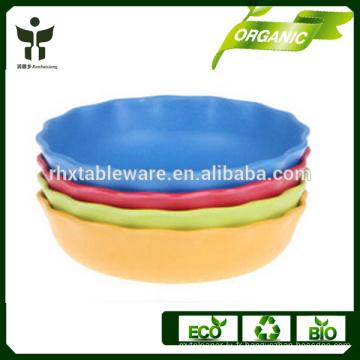 BPA sans grand bol bol naturel bol à soupe biodégradable