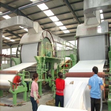 3900 Type Tissue Paper Machine Mesin Baru