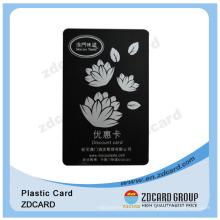 Eco-Friendly Teslin tarjeta de regalo de lealtad / tarjeta de identificación / mapa