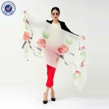 Schal der chinesischen Art-Großhandelsschal handgemalten Schal 200NM Schal SWC106 reiner Kaschmir-Schal