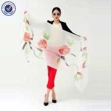 Chinese Style Wholesale scarf Hand Painted shawl 200NM scarf SWC106 Pure Cashmere Shawl