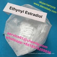 O esteróide fêmea cru da hormona estrogénica da pureza alta pulveriza Ethynyl Estradiol 57-63-6