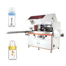 Baby Bottle Screen printer with UV Curing device