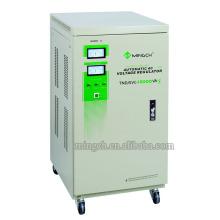 Regulador / estabilizador de voltaje de la CA de Tnd / SVC-15k de la sola fase de Customed de la serie