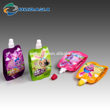 95ML Liquid Fruity Jelly Pouch Bag mit Ausguss
