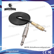 Wholesale Rotary Tattoo Machine RCA Silicone Clip Cord Black Color