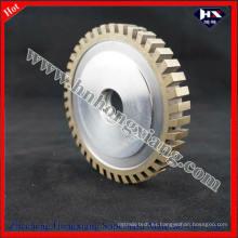 Rueda de diamante / rueda de perfil segmentado completo