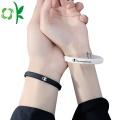 Paar High-End-Sport-Silikon-Power- / Energie-Armbänder