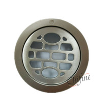 Küche Bad Dusche Staitary Stahl Runde Bodenablauf