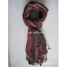Фабричная пряжа окрашенная полиэстер 1 долларовый шарф