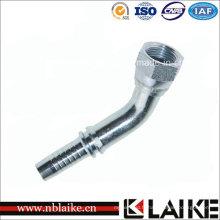 (26741) 45 raccords de tube hydraulique femelle de coude Jic