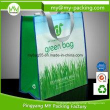 Eco Promotional Matt Laminated Nonwoven PP Shopping Bag